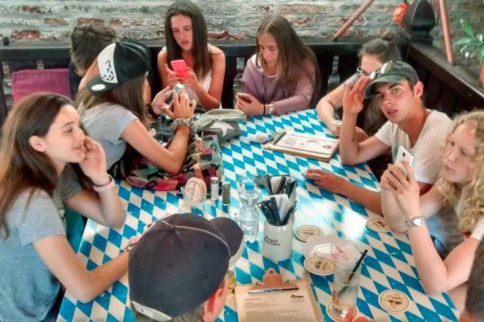Verano Alemania - Augsburgo clases y familia