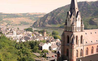 Verano Alemania – Oberwesel – Rhine