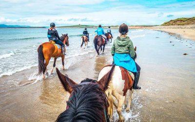 Verano Irlanda – Sutton, Dublín – Curso de equitación – familia