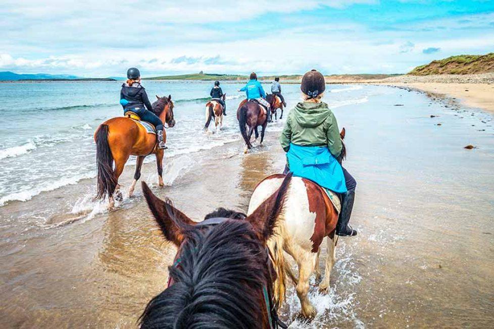 Irlanda Verano - Sutton, Área de Dublín de equitación y familia
