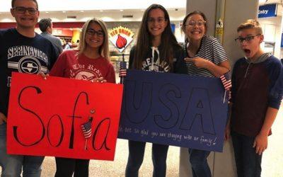 Año Escolar EEUU – Colegio público y familia voluntaria  J-1