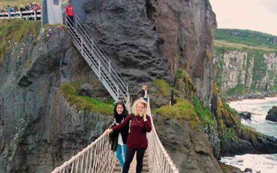 Verano Noreste de Irlanda Integración en familia