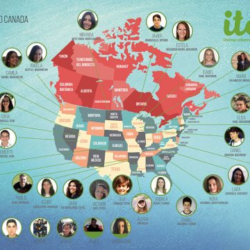 Mapa Participantes Año Académico 2019/20