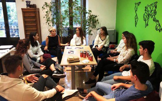 Reunión con nuestros mentores en la oficina de ITEA - 2020