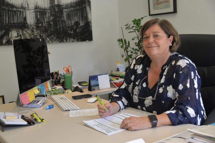 Nuestro directora de ITEA, Virginia, cariñosamente llamada Vir en la oficina en Madrid