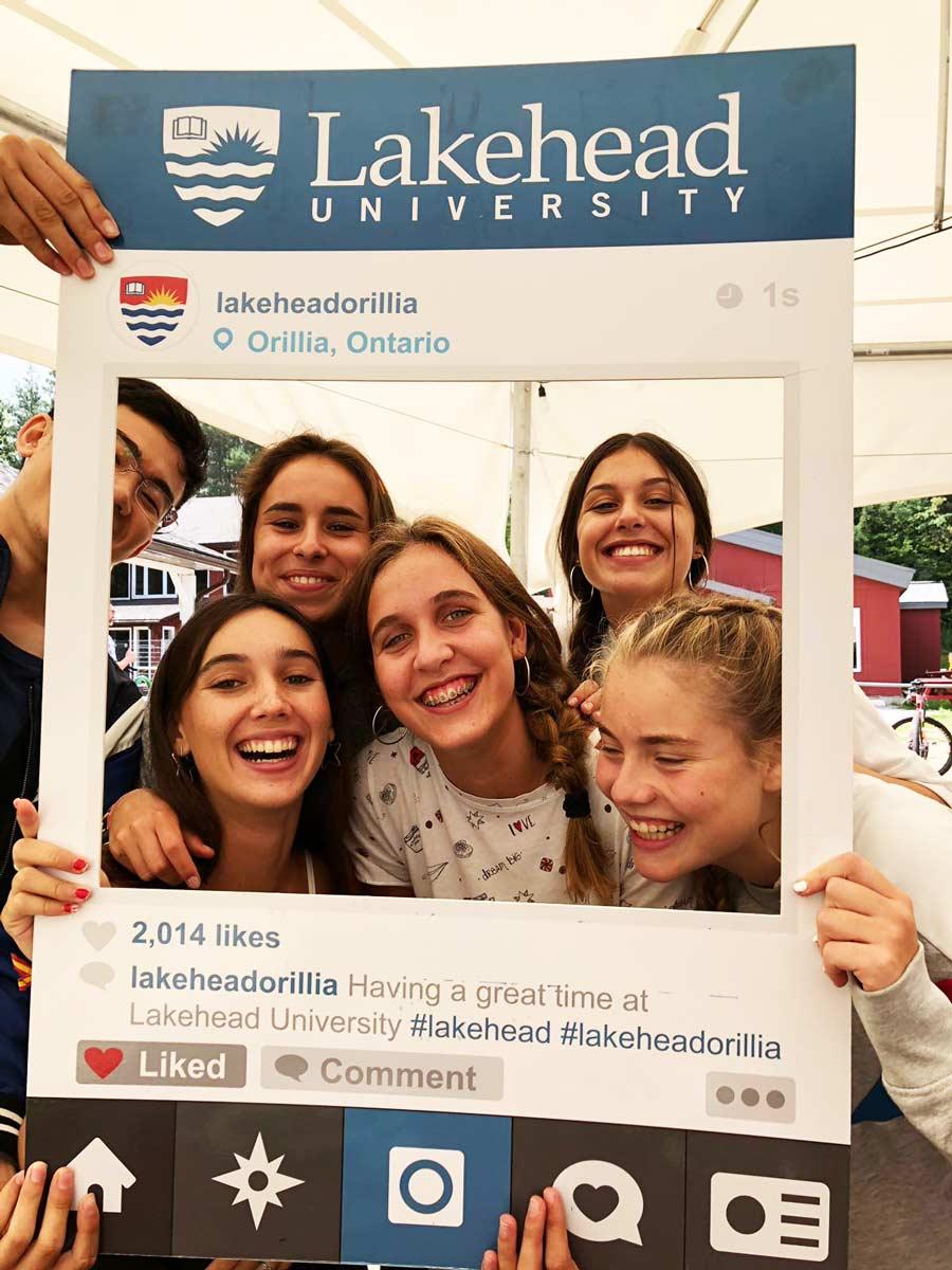 Año Académico de Rebeca en Canadá