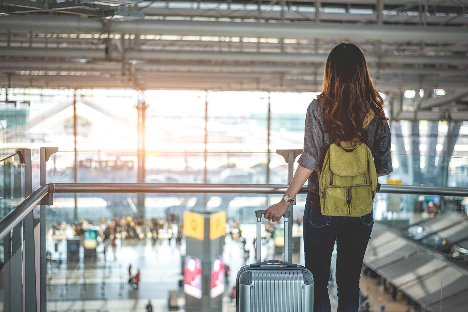 Chica viajera