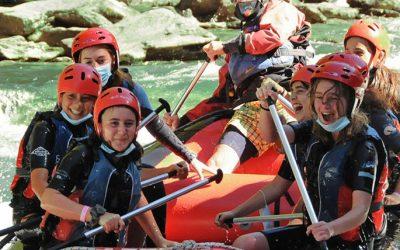 Adventure Camp en Rialp. Campamentos de verano en inglés o francés