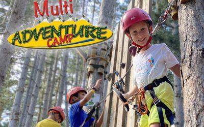 Multi Adventure Camp en Rialp. Campamentos de verano en inglés o francés