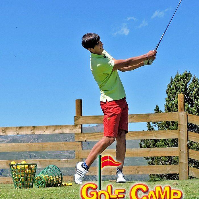 campamento golf natukcamp
