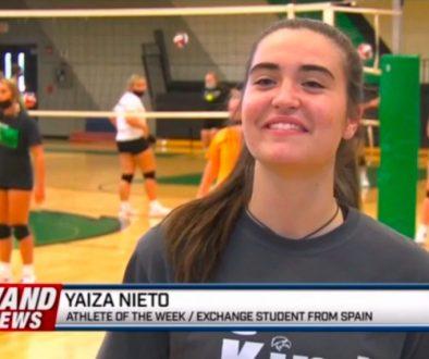 Yaiza, estudiante de Año Académico